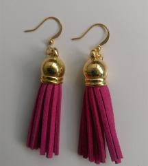 Nove handmade tassel naušnice više boja