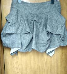 Asimetricna All Saints suknja