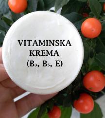 Vitaminska krema (B3, B5, E) 🍀