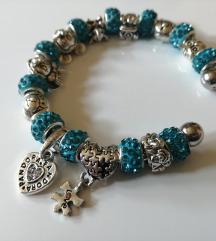 Charms bracelet BLUE