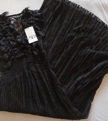 Nova Zara haljina s apliciranom cipkom