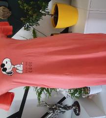 Snoopy pamucna haljina