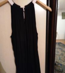 Crna majica s mašnom