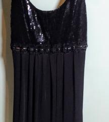 Mala crna haljina svjetlucava