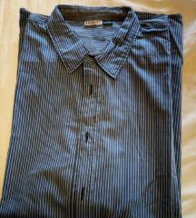 muška plava  košulja s prugicama