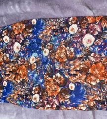 Stradivarius cvjetna suknja
