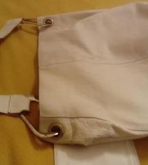 Bijela kožna torba