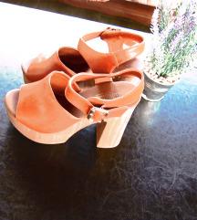 NOVE sandale drvene br.38