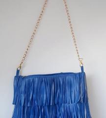 Plava ljetna torba rese NOVO