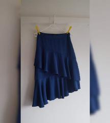 Nova asimetrična midi suknja s volanima, NY