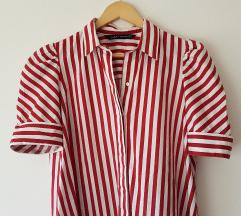 Zara prugasta haljina kosulja