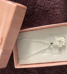 Nova! Srebrna ogrlica 925