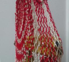 Pletena torbica za nabavku spize