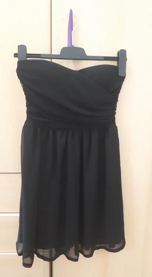 crna haljina, xs