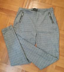 Sive poslovne slim hlače br 40