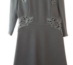 Haljina Sisley, crne boje, velicina S