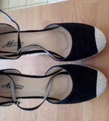 Ženske sandale crne