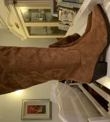 Zara kaubojske cizme, kozne, nove, 40
