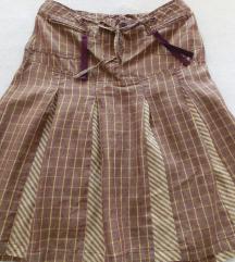 36 X-nation lanena ljetna suknjica