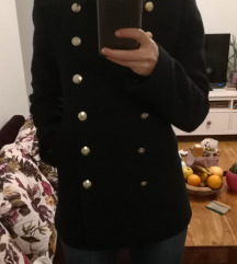 Zara military tamno plavi kaputić