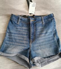 Kratke jeans hlače H&M