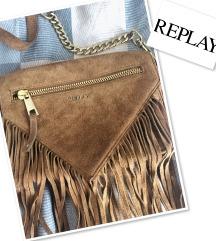 Replay smeđa torba