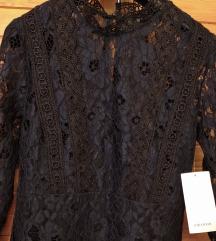 Novo s etiketom- Zara midi čipkana haljina