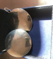 Naušnice srebro ručni rad