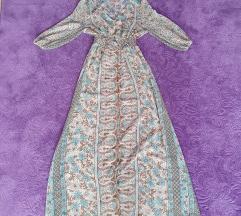 Maxi cvijetna haljina