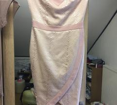 Prljavo roza nova haljina