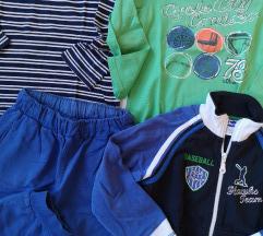 Lot majice, hlače i duksa