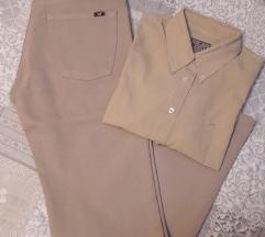 Mustang hlače i košulja M/L