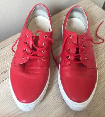 Kožne crvene cipele