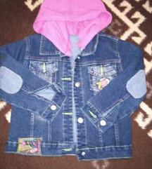 Jeans jaknica za curice vel.4