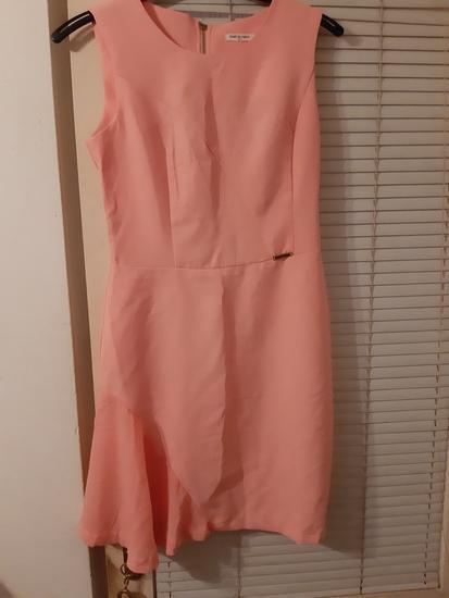 Svečana haljina, boja breskve