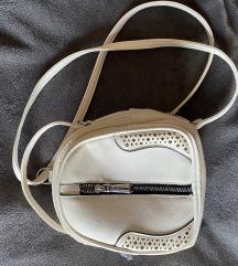 Bijela/bež ruksak torbica