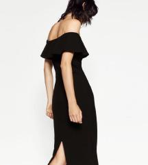 Crna mini Zara haljina