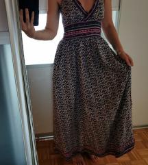 Pamučna maxi haljina M/L