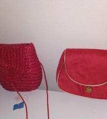 Nove crvene torbice sa etiketom