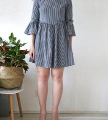 Kratka prugasta haljina