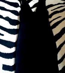 Crna koktel haljina 38