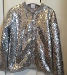 Šljokičasta jakna