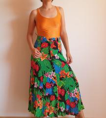 Vintage tropic suknja