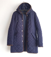 Zara duza tamnoplava jakna, velicina S