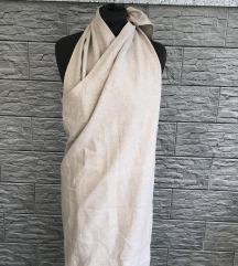 Lanena haljina M-L