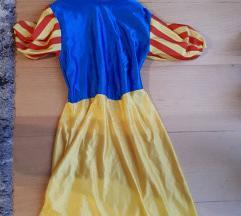Snjeguljica-haljina za maškare 7-10 g.