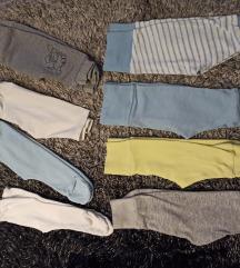 Lot pamučnih hlačica 50/56