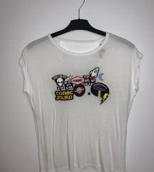 Bershka bijela majica