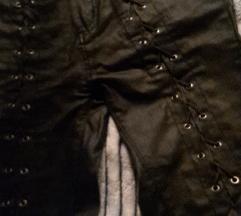 NOVO!! Crne kožne hlače gothic style