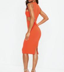 Missguided haljina s etiketom PT UK narančasta